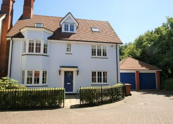 Thumbnail 5 bed detached house for sale in Armourers Close, Bishop's Stortford