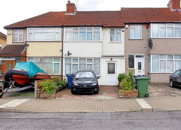 Thumbnail 3 bed terraced house to rent in Cotman Gardens, Edgware