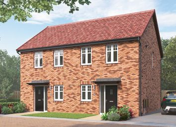 "Thumbnail 2 bed semi-detached house for sale in ""The Coleford"" at Skinner Street, Creswell, Worksop"