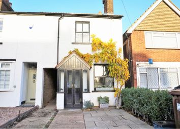 Thumbnail 2 bed semi-detached house for sale in London Road, Radlett