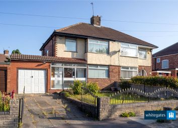 Thumbnail 3 bed semi-detached house for sale in Hillfoot Road, Liverpool, Merseyside