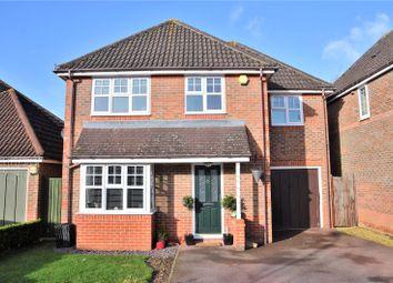 Thumbnail 4 bedroom detached house for sale in Heron Way, Aldermaston, Reading, Berkshire