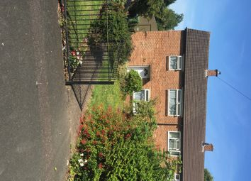 Thumbnail 1 bed flat to rent in Holly Close, Tamworth, Staffordshire