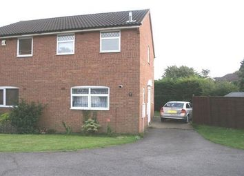 Thumbnail 2 bedroom semi-detached house to rent in Felton Close, Luton