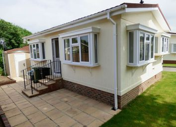 Thumbnail 1 bed mobile/park home for sale in Rickwood Park, Horsham Road, Beare Green, Dorking