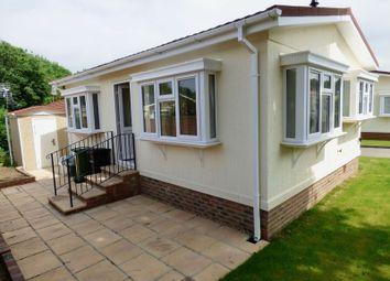 Thumbnail 1 bed mobile/park home for sale in Rickwood Park, Horsham Road, Beare Green, Dorking