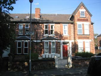 Thumbnail 1 bed flat to rent in 5 Atwood Road, Didsbury