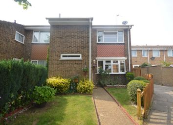 Thumbnail 3 bed end terrace house for sale in Saxon Close, Dunstable