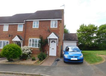 Thumbnail 3 bed semi-detached house for sale in Heron Close, Stowmarket