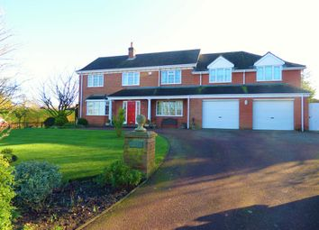 Thumbnail 4 bed detached house for sale in Station Road, Ludborough, Grimsby
