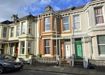 Thumbnail 3 bed terraced house for sale in Second Avenue, Stoke, Plymouth, Devon