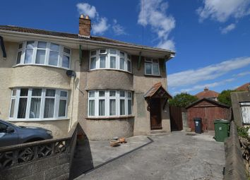 Thumbnail 3 bed semi-detached house for sale in Parkhurst Road, Weston-Super-Mare