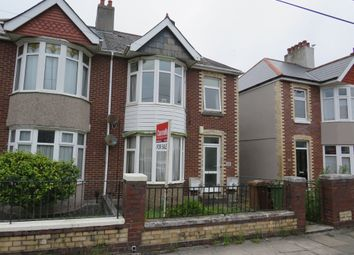 Thumbnail 2 bed flat for sale in Ladysmith Road, Plymouth