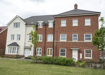 Thumbnail 2 bed flat for sale in Clover Rise, Reading