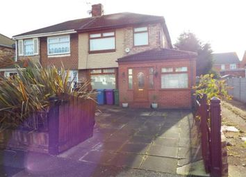 Thumbnail 3 bed semi-detached house for sale in Barford Road, Hunts Cross, Liverpool, Merseyside
