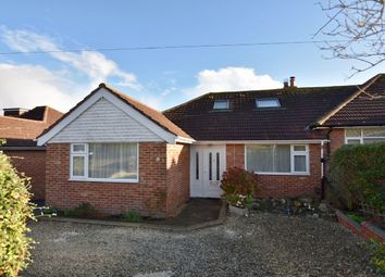 Thumbnail 4 bed semi-detached house for sale in Lustrells Crescent, Saltdean