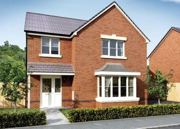 Thumbnail 4 bed detached house for sale in The Llanmaes, Cae Sant Barrwg, Pandy Road, Bedwas