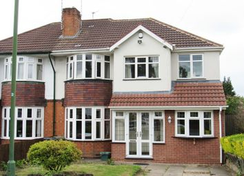 Thumbnail 5 bedroom semi-detached house for sale in Wells Green Road, Solihull