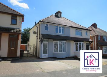 Thumbnail 3 bed semi-detached house to rent in Westbourne Avenue, Cannock