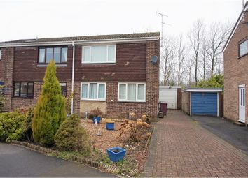 Thumbnail 3 bed semi-detached house for sale in Westbridge Road, Barlborough, Chesterfield