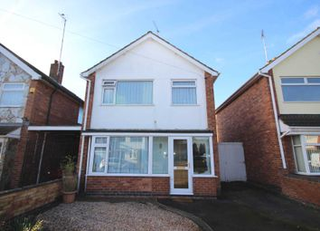 Thumbnail 3 bed detached house for sale in Stokes Drive, Leicester
