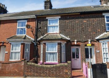 Thumbnail 2 bed terraced house for sale in Denmark Road, Lowestoft