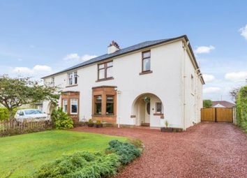 Thumbnail 4 bed semi-detached house for sale in Milverton Road, Lower Whitecraigs, East Renfrewshire