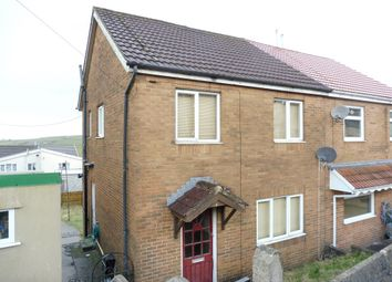 Thumbnail 3 bed semi-detached house for sale in Cambrian Avenue, Gilfach Goch, Porth