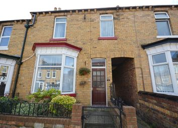 Thumbnail 3 bed terraced house for sale in Livingstone Road, Scarborough