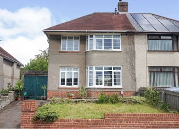Thumbnail 3 bed semi-detached house for sale in Westernmoor Road, Neath