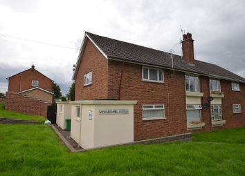 Thumbnail 2 bed maisonette to rent in Woolacombe Avenue, Llanrumney, Cardiff
