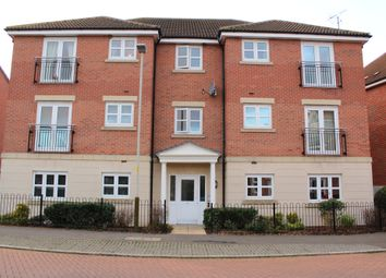 Thumbnail 2 bed flat for sale in Stillington Crescent, Hamilton, Leicester