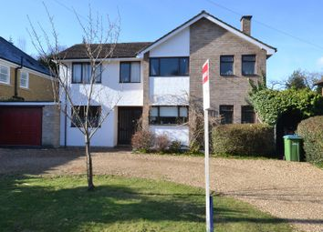 Thumbnail 4 bed detached house for sale in Kenwood Drive, Hersham, Walton-On-Thames