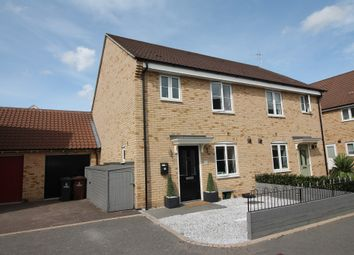 Thumbnail 3 bed semi-detached house for sale in Fowler Road, Colchester