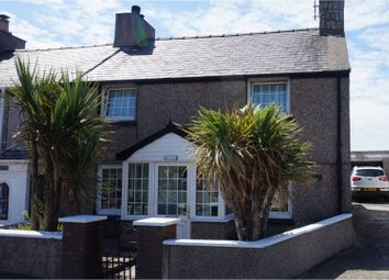 Thumbnail 3 bed semi-detached house for sale in Llanfachraeth, Holyhead