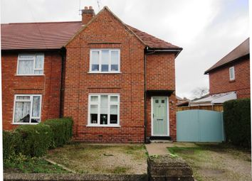 Thumbnail 3 bed end terrace house for sale in Ashbourne Road, Uttoxeter
