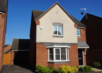 Thumbnail 3 bed detached house for sale in Hoffler Close, Countesthorpe