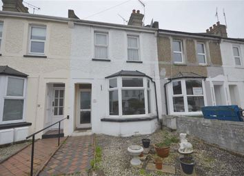 Thumbnail 3 bed terraced house to rent in Linden Road, Ashford, Kent