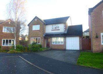 Thumbnail 4 bedroom detached house for sale in Westbrook Close, Castleton, Rochdale