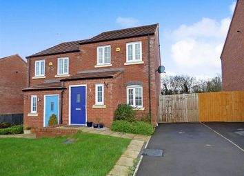 Thumbnail 2 bed semi-detached house for sale in Elbourne Drive, Scholar Green, Stoke-On-Trent