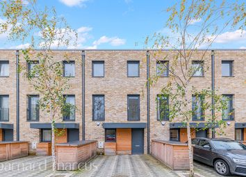 Thumbnail 5 bed town house for sale in Beatrice Place, Southfields, London