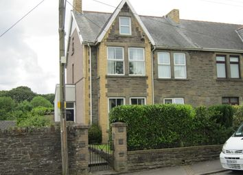 Thumbnail 5 bed semi-detached house for sale in Moorland Road, Bargoed