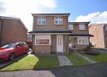 Thumbnail 3 bedroom semi-detached house for sale in Burnside Walk, Coatbridge