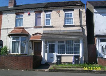 Thumbnail 3 bed terraced house for sale in Wyreley Road, Witton