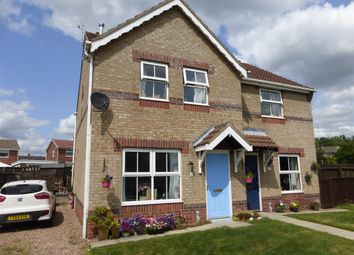Thumbnail 3 bed semi-detached house for sale in Fenners Avenue, Bottesford, Scunthorpe