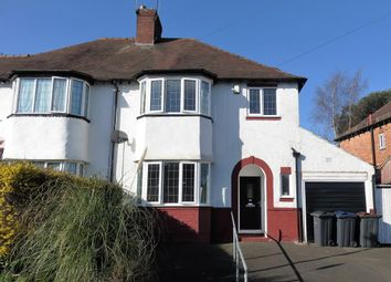 Thumbnail 3 bed semi-detached house to rent in Yewcroft Avenue, Harborne, Birmingham