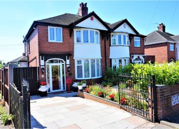 Thumbnail 3 bed semi-detached house for sale in Burton Crescent, Stoke-On-Trent