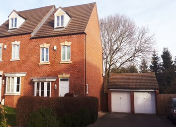 Thumbnail 4 bed property to rent in Poppyfields, Marehay, Ripley, Derbys.