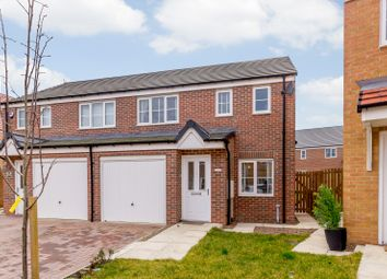Thumbnail 3 bed semi-detached house for sale in Cornwall Way, Blyth