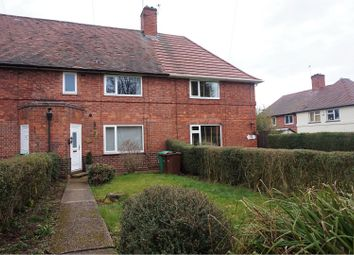 Thumbnail 3 bed terraced house for sale in Fulwood Crescent, Nottingham